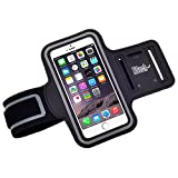 Nouch Armband with 4 Ports for iPhone 6/6 Plus/5 and Samsung Galaxy Note 4, 3, S Series & Cellphones up to 5.5-Inch