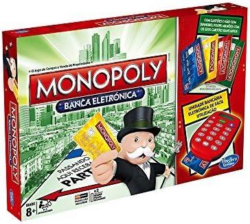 Hasbro Gaming - Juego de Mesa Monopoly, electrónico (A7444190) (versión Portuguesa): Amazon.es: Juguetes y juegos
