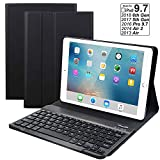 eoso Ultra Lightweight Cover case with Detachable Wireless Keyboard for Apple New iPad