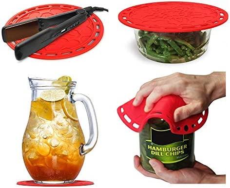 Colchones térmicos de silicona(4 piezas)-herramientas de cocina ...
