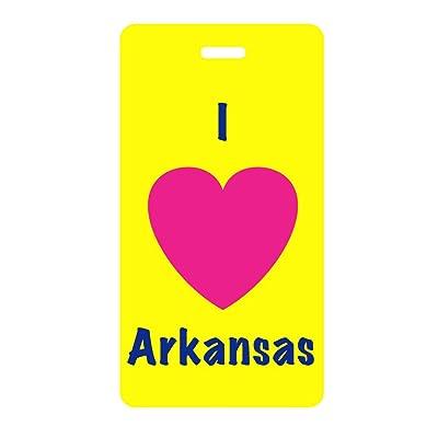 "Luggage Tag - I ""Heart"" Arkansas-Inventive Travelware"