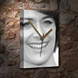 Seasons Sarah Clarke - Canvas Clock (A5 - Signed by The Artist) #js003