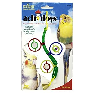 JW Pet Company Activitoys The Wave Bird Toy 44