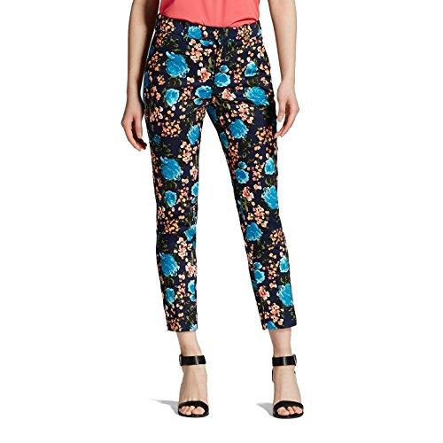Women's Printed Classic Ankle Pant - Merona (6) (Ladies Ankle Pants)