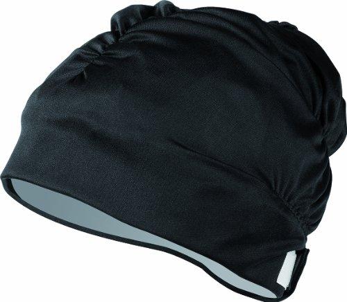(Aqua Sphere Aqua Comfort Swim Cap, Black)