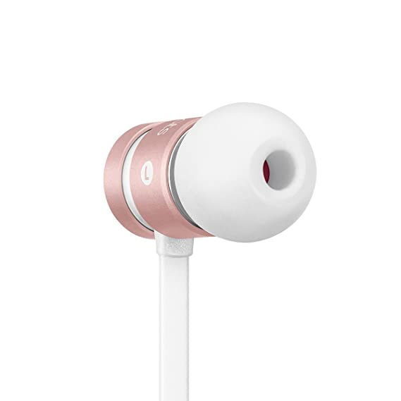 fe7f334639fd Image Unavailable. Image not available for. Color: urBeats Wired In-Ear  Headphone - Rose Gold