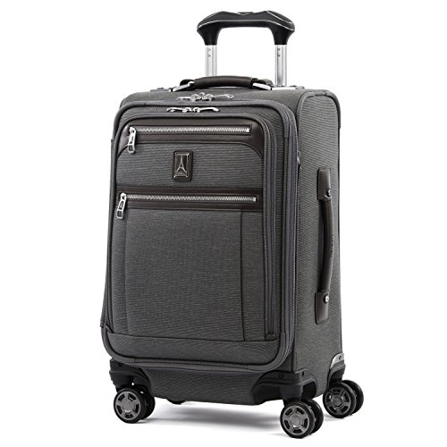 Carry Trolley Spinner Expandable On - Travelpro Luggage Platinum Elite 20