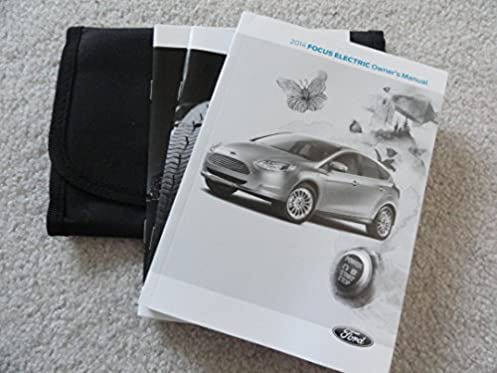 2014 ford focus owners manual ford amazon com books rh amazon com user manual ford focus 2014 user manual ford focus 2006