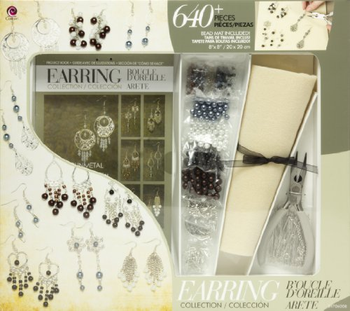 Price comparison product image Jewelry Basics Class In A Box Kit,  Silver Tone Earrings