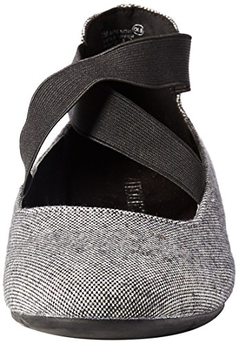 Wool Rite Ballet Aerosoles Grey Flat Women's Now Black pq5w0z