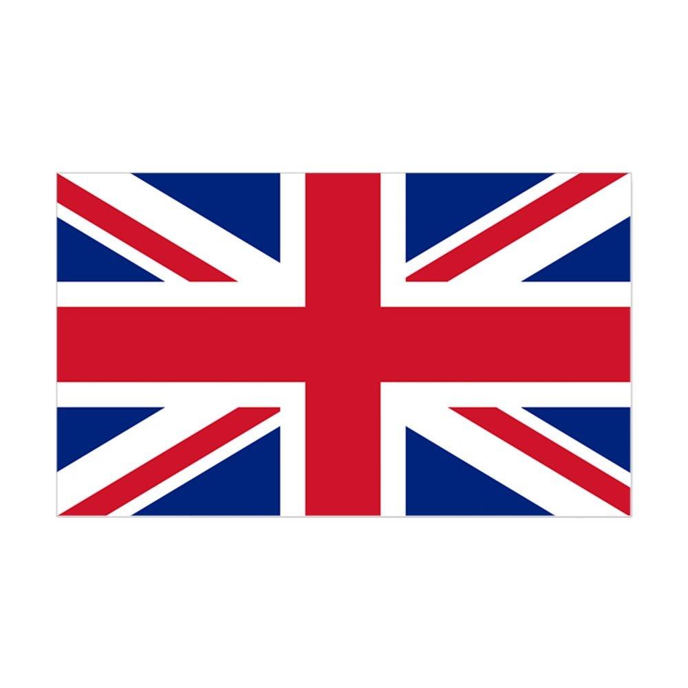流行 CafePress Sticker Rectangle with British Flag - - the Union with Jack Sticker Rectangle - 3x5 by CafePress B00PKOIS28, ユーロキッチンかさい:3b80c3e6 --- mvd.ee