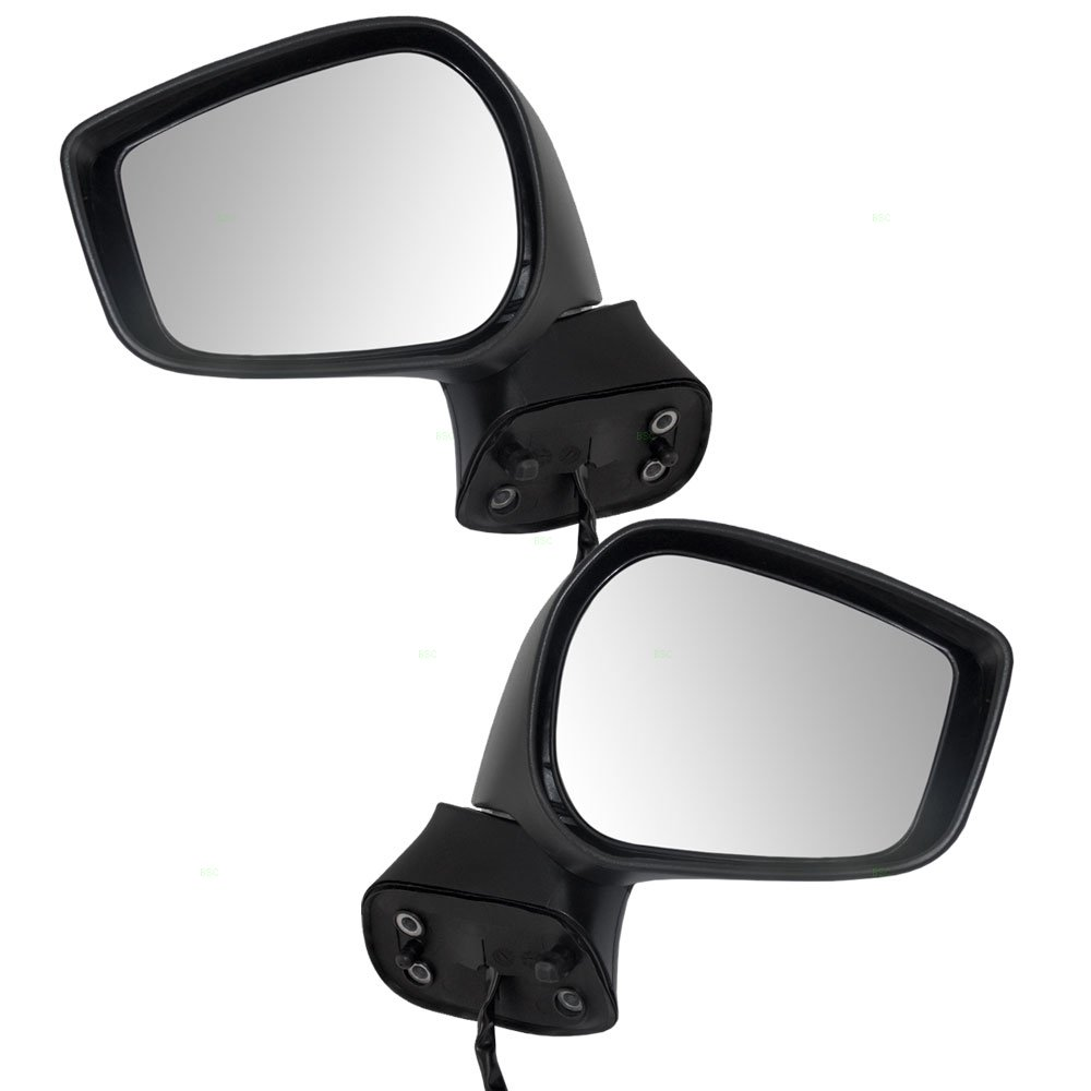 Driver and Passenger Power Side View Mirrors Heated Replacement for Scion FR-S Subaru BRZ SU003-05239 SU003-06208