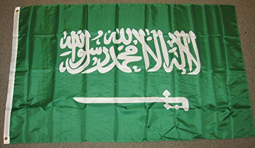 saudi arabia flag 3 x 5 feet - 5