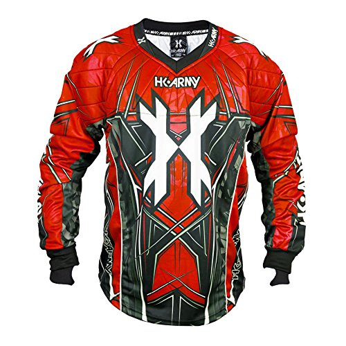 HK Army HSTL Line Jersey (Red, Large) by HK Army