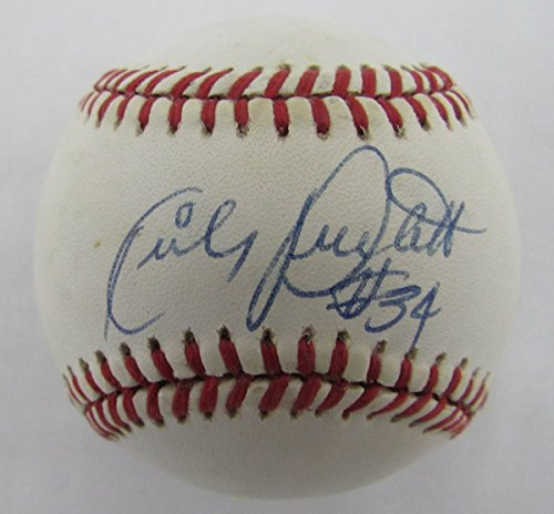 Kirby Puckett Minnesota Twins #34 Signed OAL Baseball JSA 136700 ()