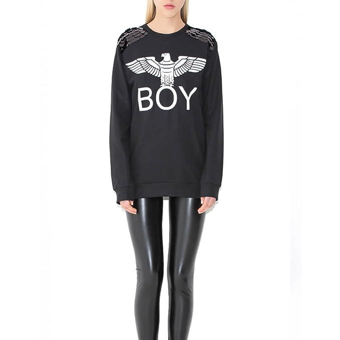 Boy London - Sudadera - para Mujer Negro X-Small: Amazon.es: Ropa y accesorios