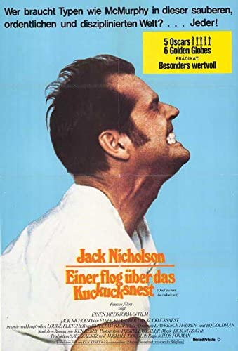 Jack Nicholson One Flew Over the Cuckoo/'s Nest POSTER