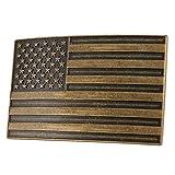 """NPET Men's Vintage USA Flag Belt Buckle (Fit 1.5"""" belt)"""