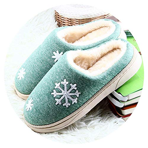 (High end 2018 Women Winter Warm Ful Slippers Women Slippers Cotton Sheep Lovers Home)