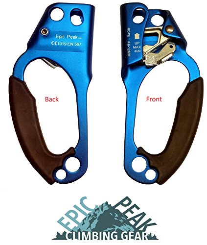 Epic Peak Climbing Right Hand Ascender with Free Decal by EPIC PEAK CLIMBING GEAR (Free Decal)