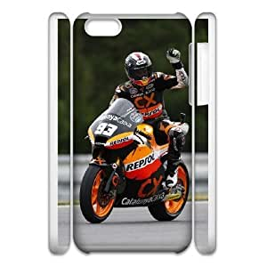 Marc Marquez For iphone5c 3D Cell Phone Case White XER37644