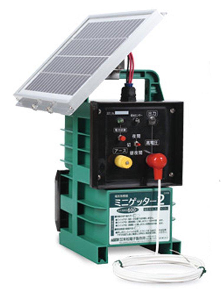 末松電子 電気牧柵機 ミニゲッター2ソーラー M-6S No.121 B00EC0G6NO