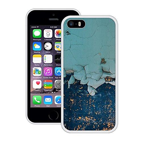 Alter Lack | Handgefertigt | iPhone 5 5s SE | Weiß Hülle