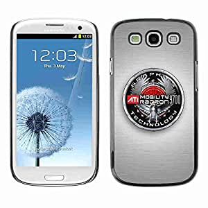 Planetar® ( Graphics Badge ) Fundas Cover Cubre Hard Case Cover Samsung Galaxy S3 III / i9300 i717