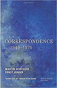 Book Correspondence 1949-1975 (New Heidegger Research)