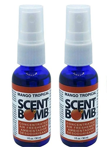 Scent Bomb Super Strong 100% Concentrated Air Freshener - 2 (Tropical Scent)