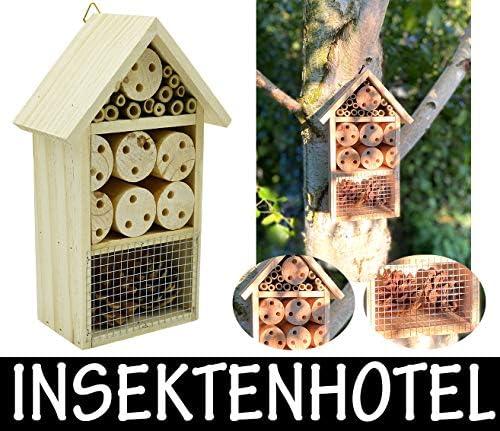 Möbelbörse Insektenhotel Insektenhaus Brutkasten Nistkasten Insekten Bienen Hotel aus Holz