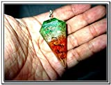"Jet Orgone Pendulum 2 Healing 2"" Free Booklet Jet International Crystal Therapy"