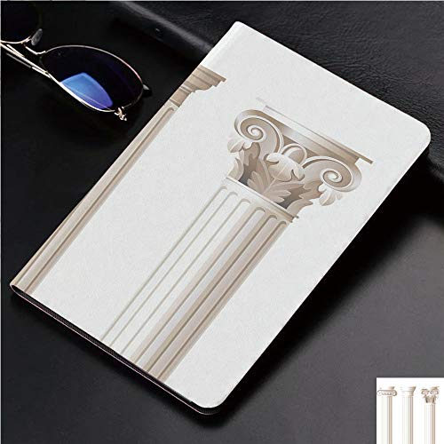 (Case for iPad 2 iPad 3 iPad 4 TPU Leather Rotating Smart Stand Tablet Case for iPad 2/3/4,Design Ionic Doric and Corinthian Marble Columns )