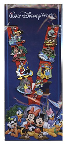 Disney Pin - Parks and Resorts Deluxe Lanyard and Pin Starter Set - Walt Disney World 78643