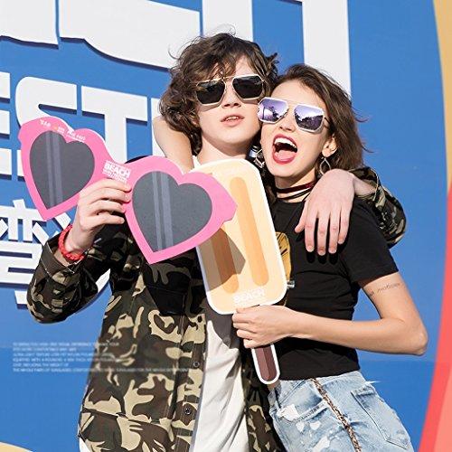 couture Pink en couple soleil lunettes nylon de Mode 8zf44