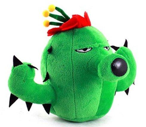 Plants vs.Zombies Soft Plush Toy Doll Cactus Plants Vs Zombies 14cm ...