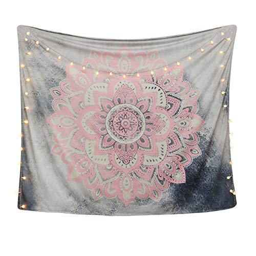 Top 10 recommendation mandala tapestry wall hanging pink