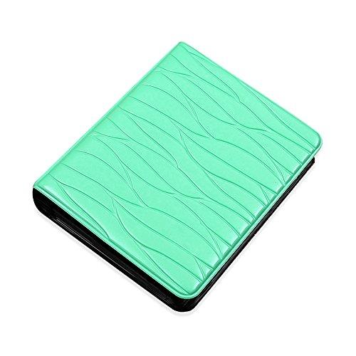 - Jia Hu Mini 65 Pockets Photo Album for Fujifilm Instax Polaroid Size Leaf Picture Case Storage Book Gift Mint Green