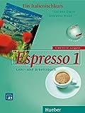 Espresso 1 erweiterte Ausgabe: Ein Italienischkurs / Lehr- und Arbeitsbuch mit Audio-CD
