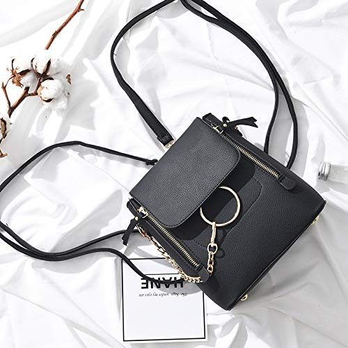 Colgado Estereotipos Bolso Negro Claro Para Sencillo Elegante Xmy Gris De Hombro Mujer Pequeño nSFxqzz1