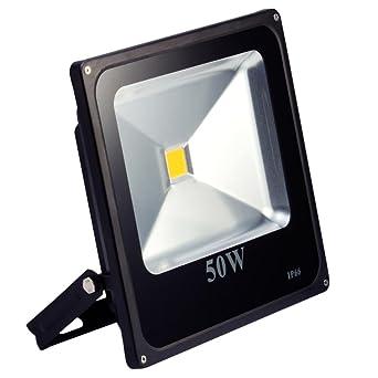 Favorit LED Strahler, LED Fluter, SLIM 50 Watt Warmweiss 3000K LED VQ72