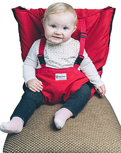 - Babyzoodle Baby Travel High Chair Portable High Chair Infant Baby Booster Seat Dining Baby Portable Baby Chairs Harness Toddler Camping Chair Baby Beach Chair Baby Feeding Chair Sitting Up Chair