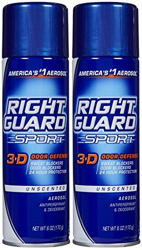 right-guard-sport-3-d-odor-defense-unscented-aerosol-antiperspirant-deodorant-6-oz-pack-of-9-by-righ