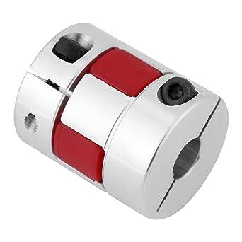 les ventilateurs 10mm-12mm Arbre daccouplement de prune le coupleur daccouplement darbre de prune dalliage daluminium se connecte D25 L30 pour les pompes