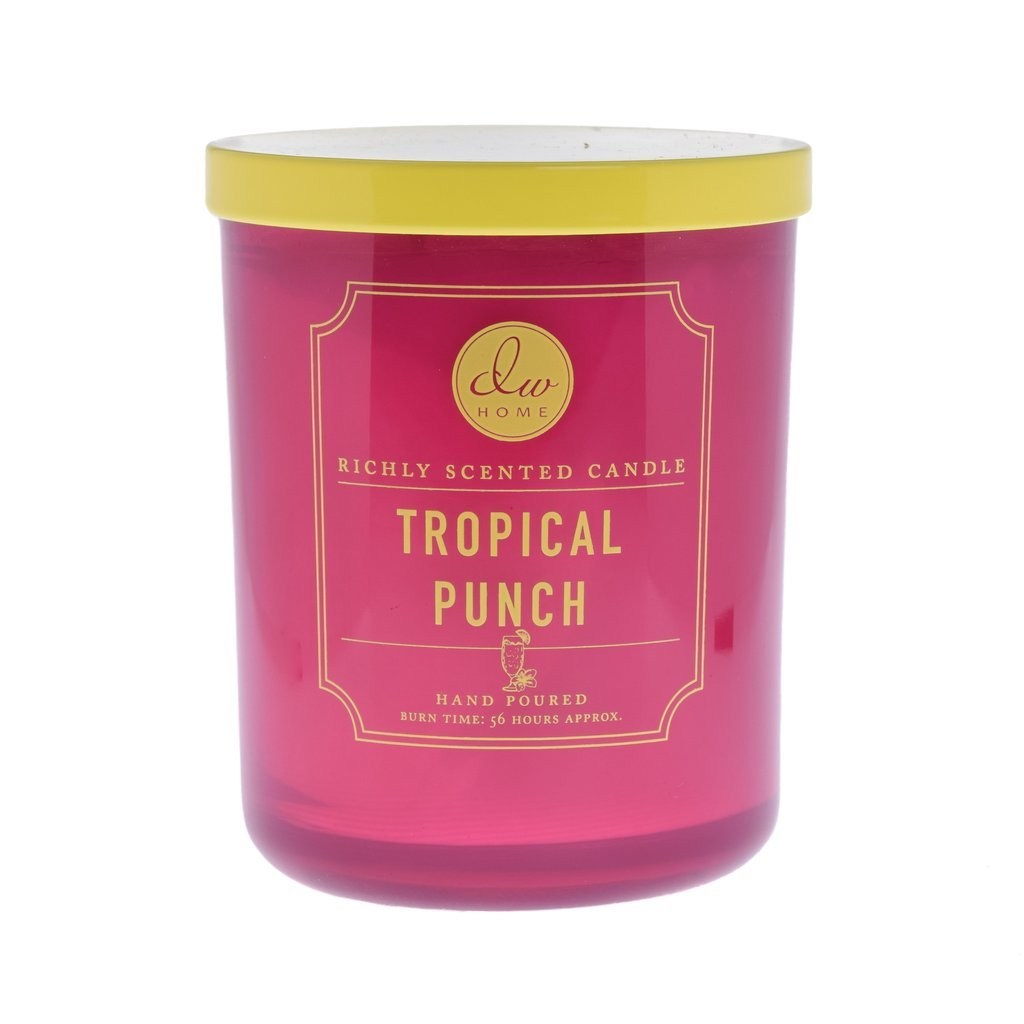 Tropical Punch DW Home Decoware Scented Candle Signature Brights Collection Medium