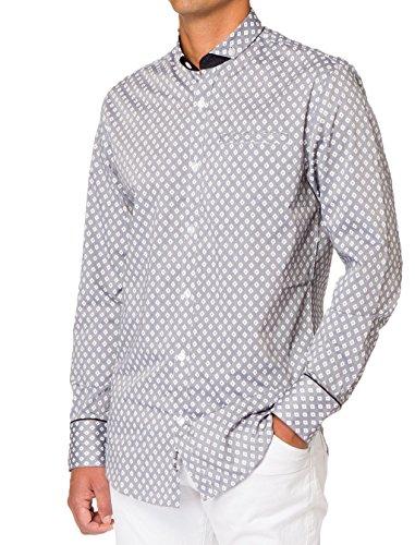 227world TYPHO Printed Long Sleeve Woven Shirt