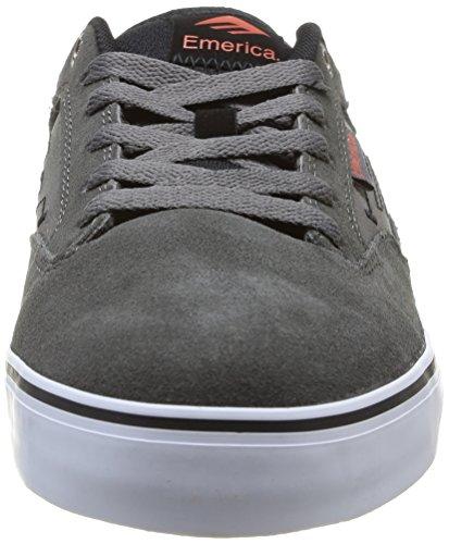 Emerica THE JINX 2 6101000095 - Zapatillas de cuero para hombre Gris