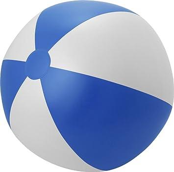 blau-weiß Strandball Wasserball Farbe