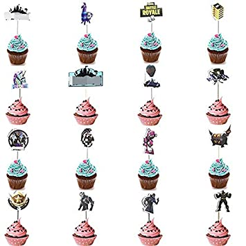 Hizoop 16 Piezas cumpleaños Topper Pastel, Tema de ...