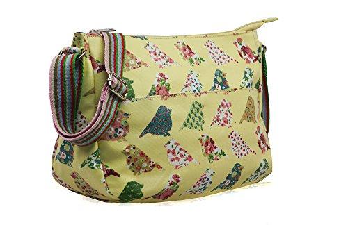 Handbag Body Messenger Shoulder Bag Ydezire Satchel Women Cross Ladies Tote Beige Oilcloth Pigeon IAXqnUPTX